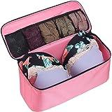 St.Jubileens Bra Underwear Storage Bag Foldable Luggage Travel Organizers Toiletry Packing Cube