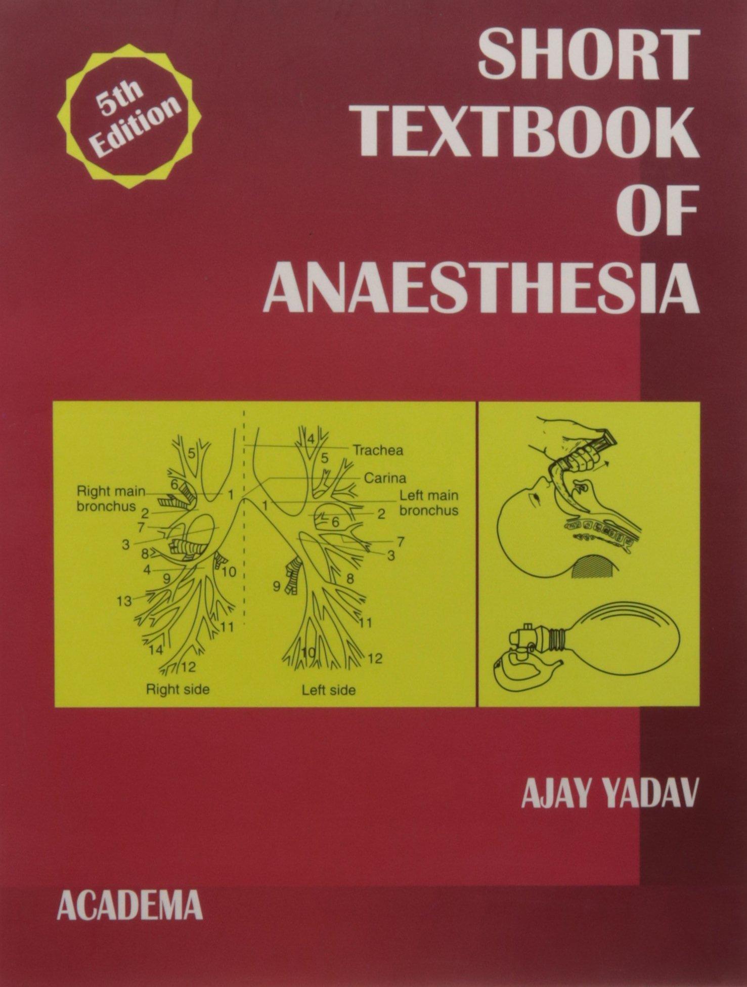 Yadav anaesthesia book ajay