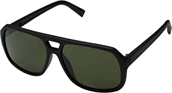 Electric Dude Sunglasses Matte Black with Ohm Grey Lens