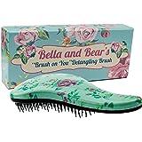 Brosse à cheveux - Pour cheveux mouillées ou secs - Anti-cassure et anti-emmêlement