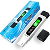 Water Quality Tester, Accurate and Reliable, HoneForest TDS Meter, EC Meter & Temperature Meter 3 in 1, 0-9990ppm, Ideal…