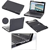"Devicewear Book Cover 11"" Acer C720/C740 Chromebook Case"