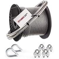 Seilwerk STANKE Cuerda de acero galvanizado en cubierta