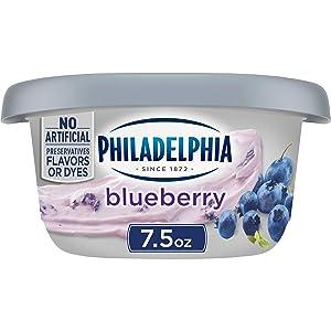 Philadelphia Blueberry Cream Cheese Spread (7.5 oz Tub)