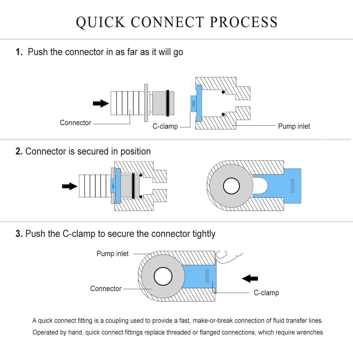Bacoeng High Pressure Water Diaphragm Pump Misting Booster Caravan Wiring Diagram Sprayer For Rv Boat Marine Ac220v 240v 7l Min 160psi Sports