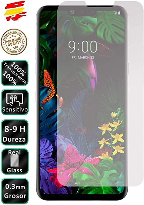 Movilrey Protector para LG G8 Thinq Cristal Templado de Pantalla ...