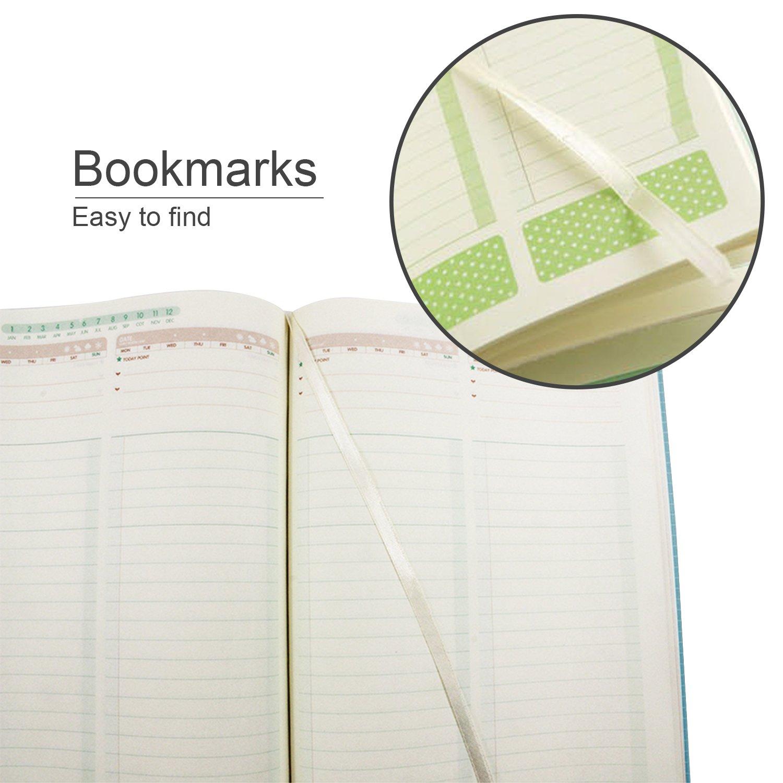 Amazon.com: ezsos diario planificador, 365 Calendario Diary ...