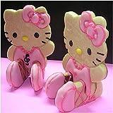 Hello Kitty Sitting 3D Cookie Cutter & Toast Press Set
