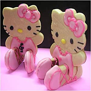 Hello Kitty Sitting 3D Cookie Cutter & Toast Press Set