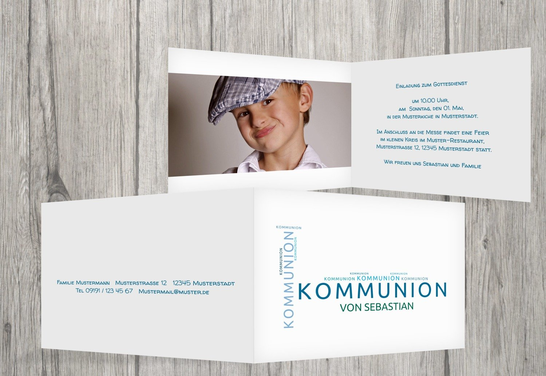 Kartenparadies Einladungskarte zur Kommunion Kommunionskarten Script, hochwertige Einladung Einladung Einladung als Kommunionskarte inklusive Umschläge   20 Karten - (Format  148x105 mm) Farbe  Blau B01N6WWI5V   New Listing    Hohe Qualität    Kostengünstiger  ee941c