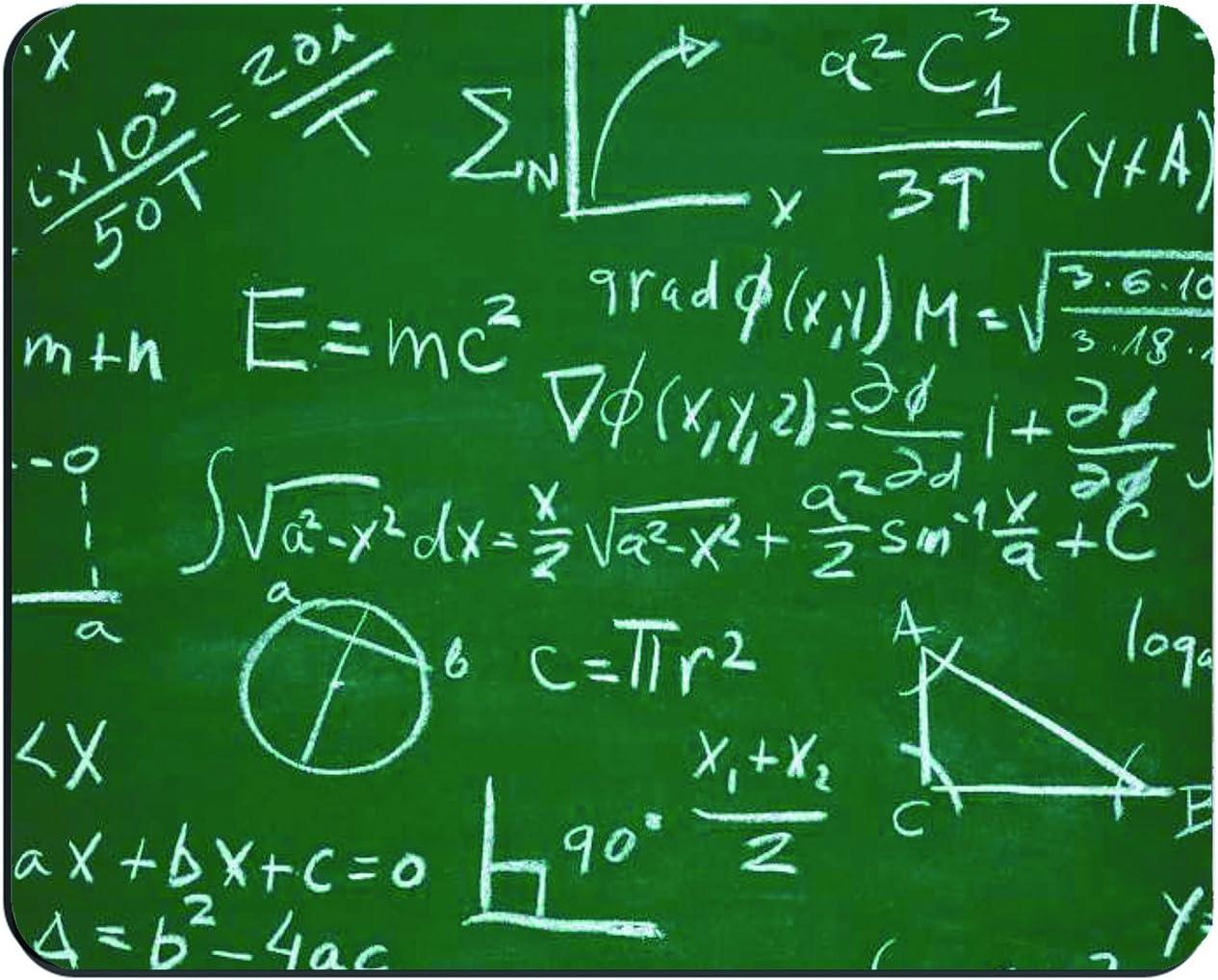 MATH FORMULA TEACHER PROFESOR BOARD DESIGN COMPUTER MOUSE PAD MATS MOUSEPAD