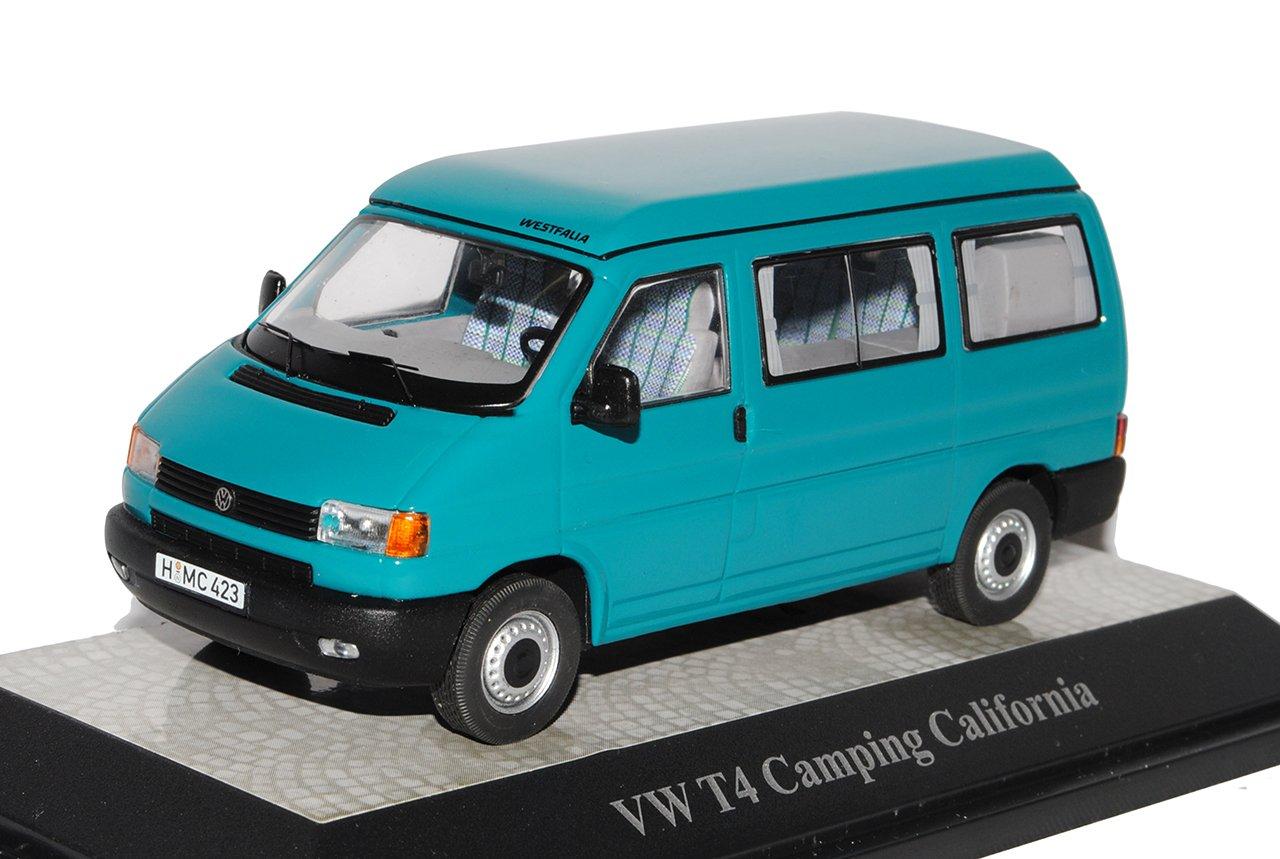 Premium ClassiXXs Volkwagen T4 Transporter Personen Camping California Grün 1990-2003 1/43 Modell Auto mit individiuellem Wunschkennzeichen