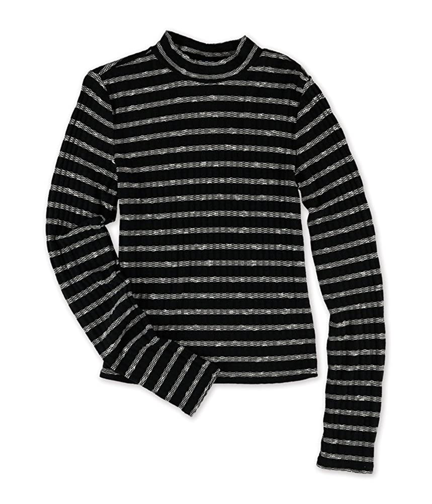 Aeropostale Womens Knit Striped Pullover Sweater 5606
