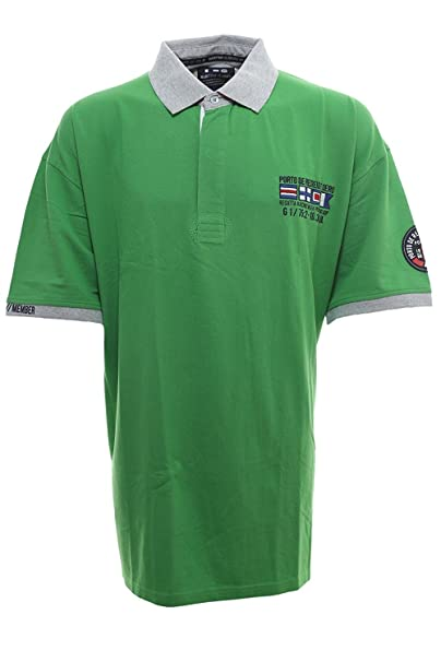 Kitaro Maritim Classic Polo Camiseta Green Flash M de XXXXL (XL ...