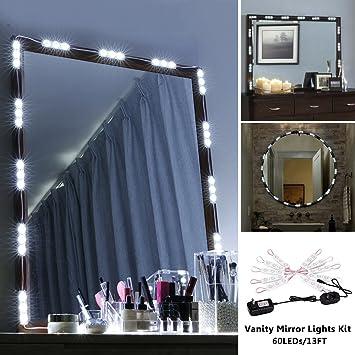 Vanity Mirror Lights Dsben 13 Ft 60 Leds Diy Hollywood Led Makeup