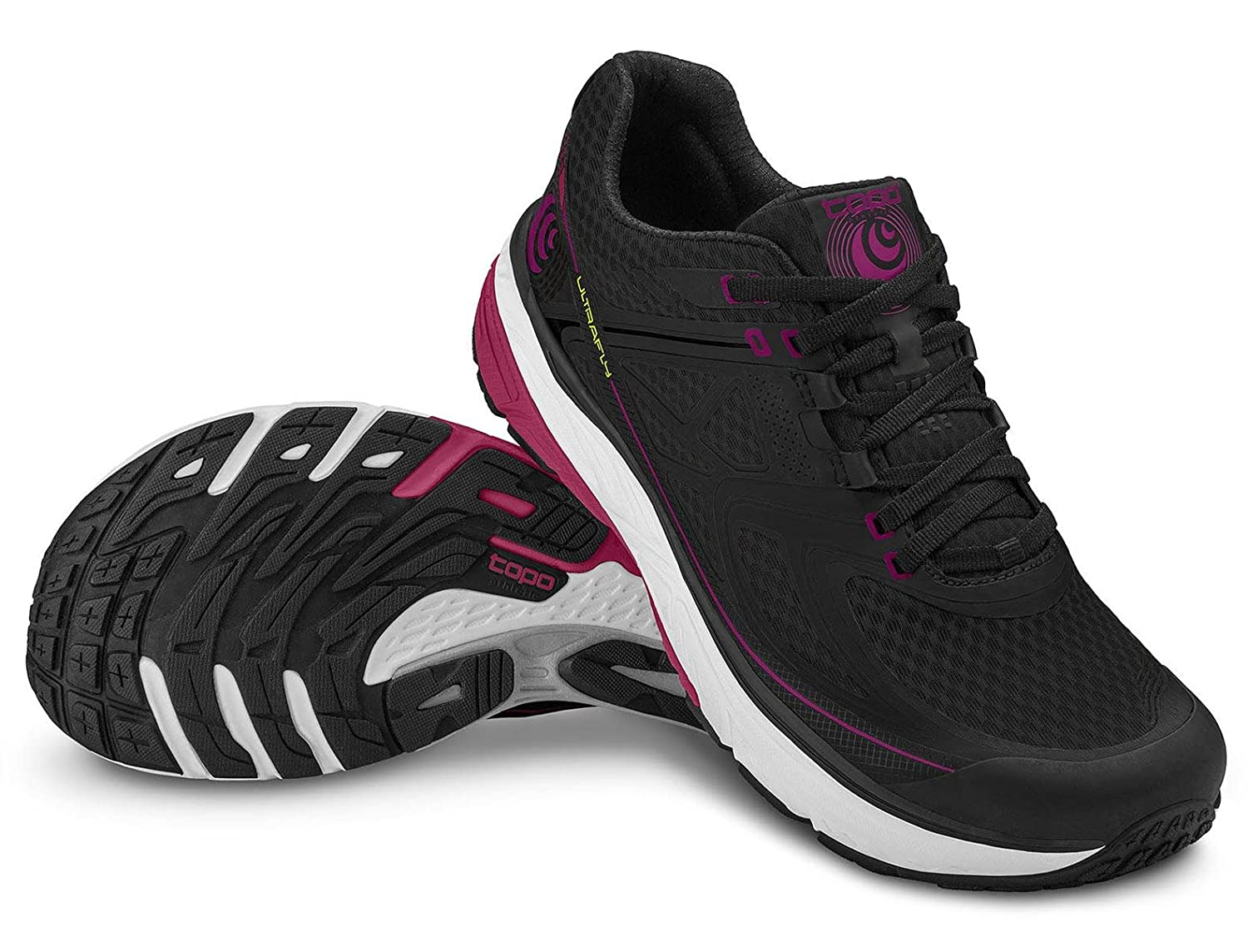 Topo Athletic B071XND58G Ultrafly Running Shoe - Women's B071XND58G Athletic 7.5 B(M) US|Black/Fuchsia 592fb2