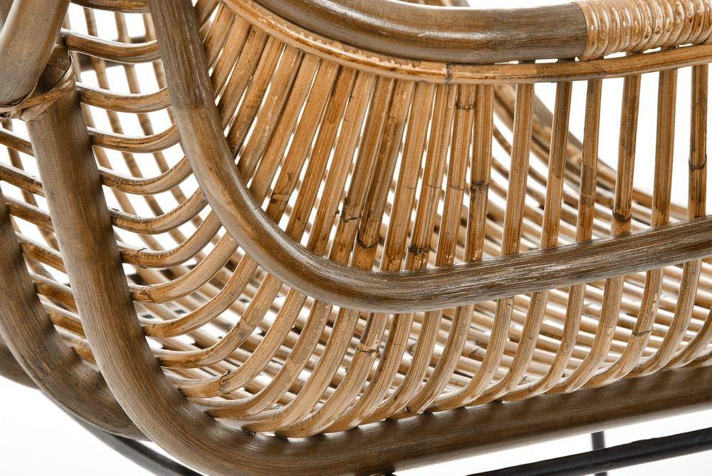 Rattan Stühle Stuhl Korb Design Sessel Animal Rattanstuhl 8mN0nw