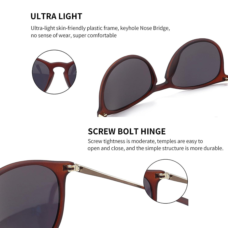 c86c9cc1d4f SUNGAIT Vintage Round Sunglasses for Women Classic Retro Designer Style  SUNGAIT9951009