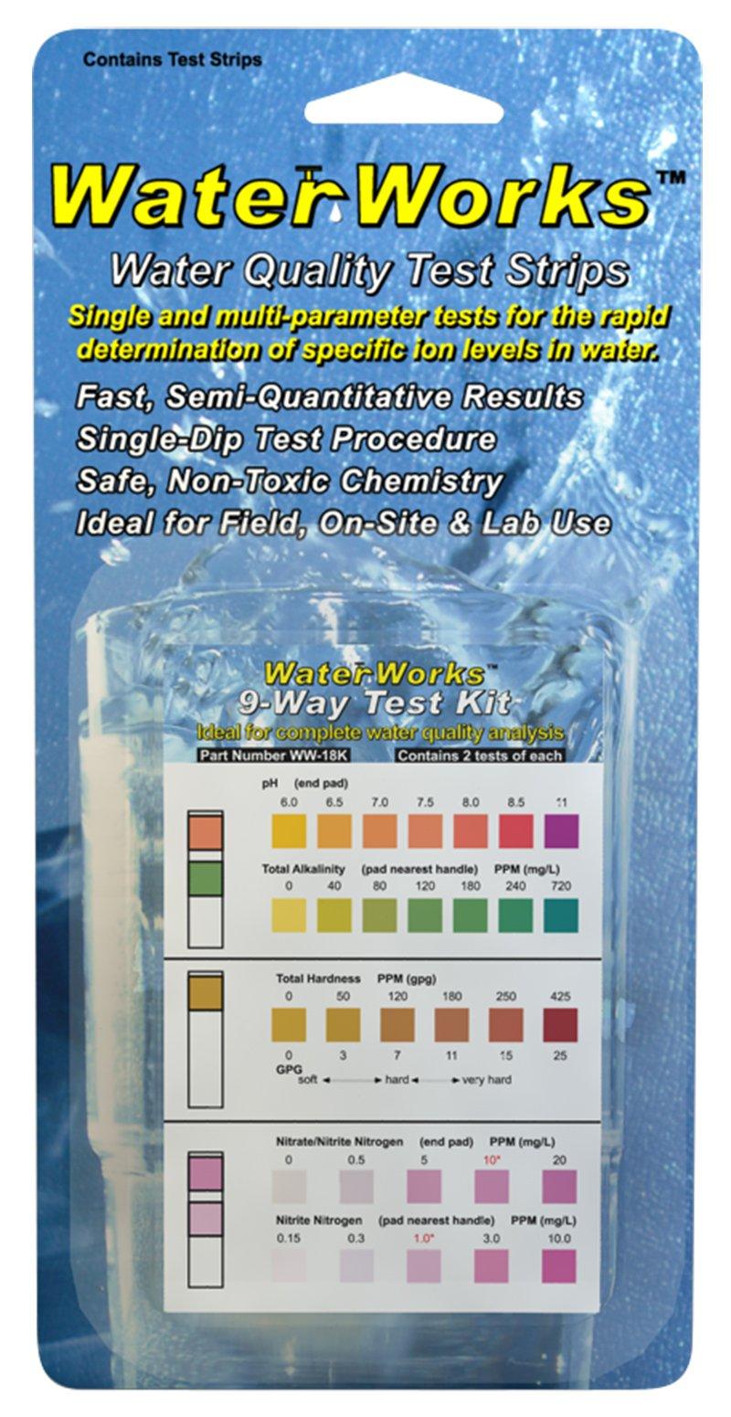 Industrial Test Systems WaterWorks WW-18K 9-Way Test Kit (2 Tests)