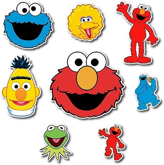 Amazon Com Platinum Stuff Sesame Street Set Sticker Elmo