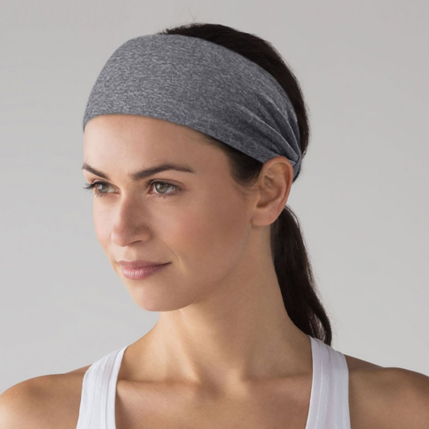 ETCBUYS Sports Fitness Headband - Athletic Womens Headband and Work-Out  Head Wrap Sweatband For d005d614c6b4