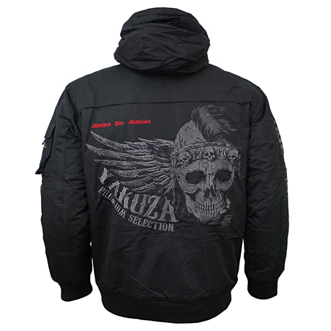 Jacke Yakuza 2569 GrößeS FarbeSchwarzBekleidung c3Lq4Rj5AS