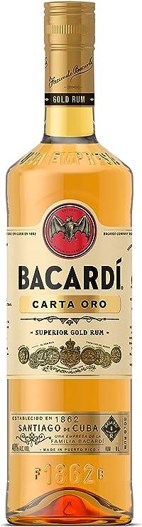 Ron - Bacardi Carta Oro 1L