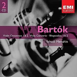 Bartok: Violin Concertos 1 & 2 - Viola Concerto - Rhapsodies 1 & 2