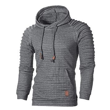 6951845a305d Pullover Für Herren,Freizeit Slim Fit Hoodie Outwear Resplend Einfarbig  Kapuzenpulli Oberteil Herbst Lange Ärmel