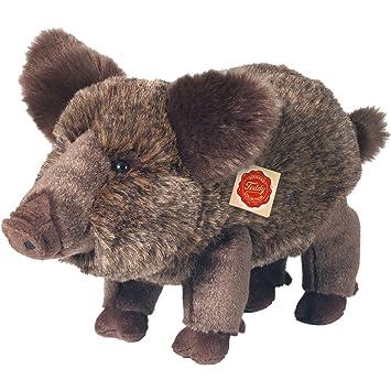 Hermann Teddy Colección 908319 30 cm Peluche de jabalí