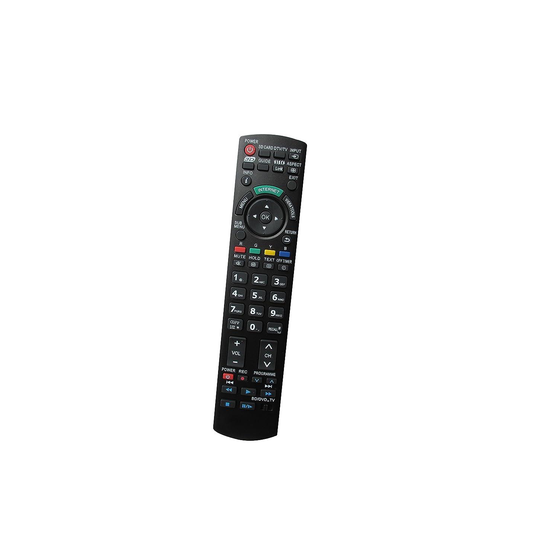 ユニバーサル交換用リモコン パナソニック CT-27SX12AUF CT-27SX12D CT-27SX12F EUR7737Z40 EUR7737Z10 3D Viera プラズマ LCD LED HDTV TV用   B01HRM15OS