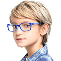 Cyxus Blue Light Blocking Glasses for Kids and Teens Anti Eye Strain UV Protection Computer Eyeglasses Boys/Girls