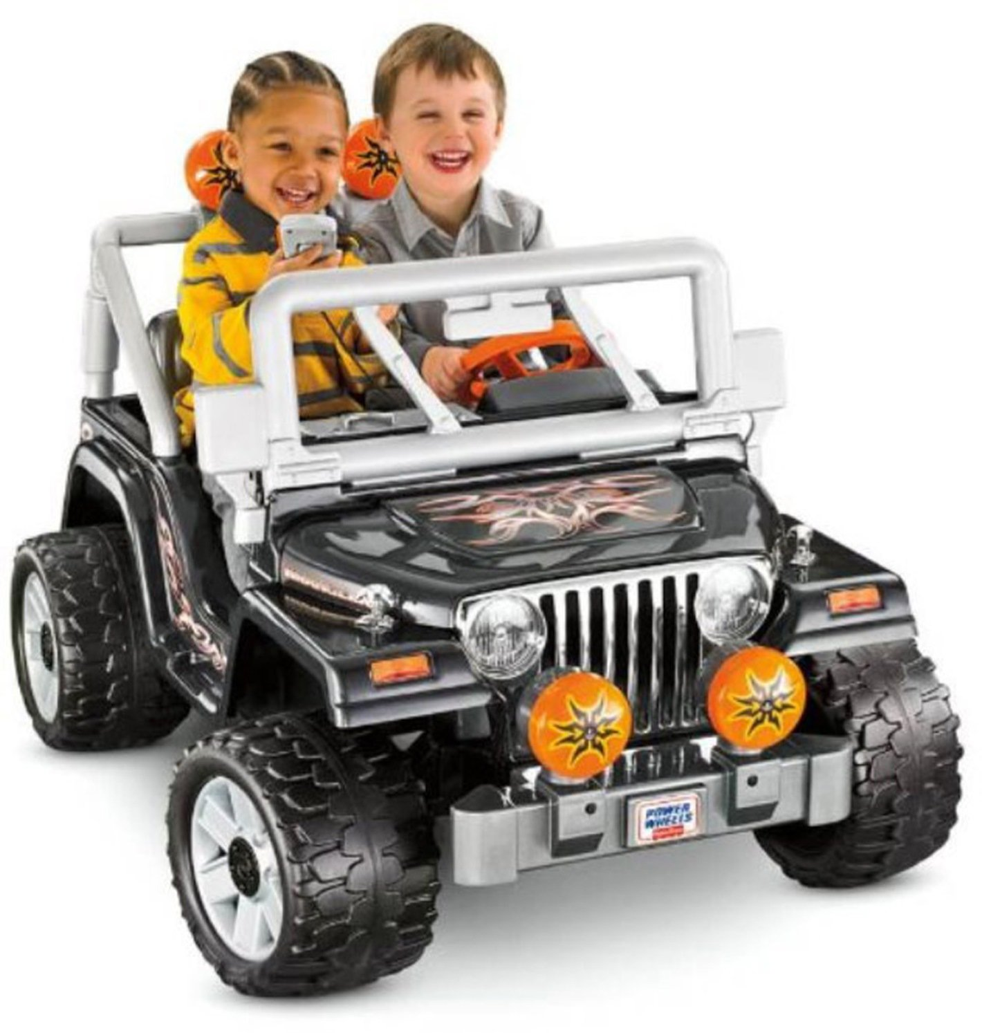 Fisher-Price Power Wheels Tough Talking Jeep Wrangler by Power Wheels