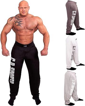 C P Sports Pantalones De Entrenamiento Para Hombre Para Culturismo Fitness Jogging Old School Amazon Es Deportes Y Aire Libre