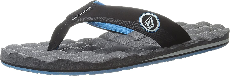 Volcom Men/'s Recliner Sandal Flip Flop