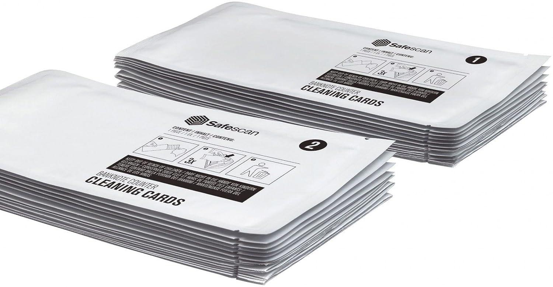 Safescan tarjetas de limpieza - Para contadoras de billetes 136-0546