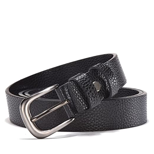 607dd6eb7a6bc TUNGHO PU Leather Belts for Women with Alloy Buckle for Western Cowgirl  Jeans and Pants Plus
