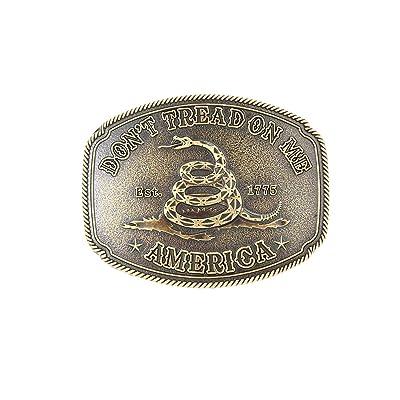 Mens Western Cowboy Belt Buckle 3D Snake Rattlesnake Metal Alloy Belt Buckle