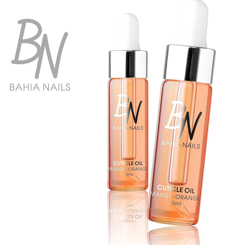 Bahia Nails–Aceite para cutícula mango naranja 15ml.