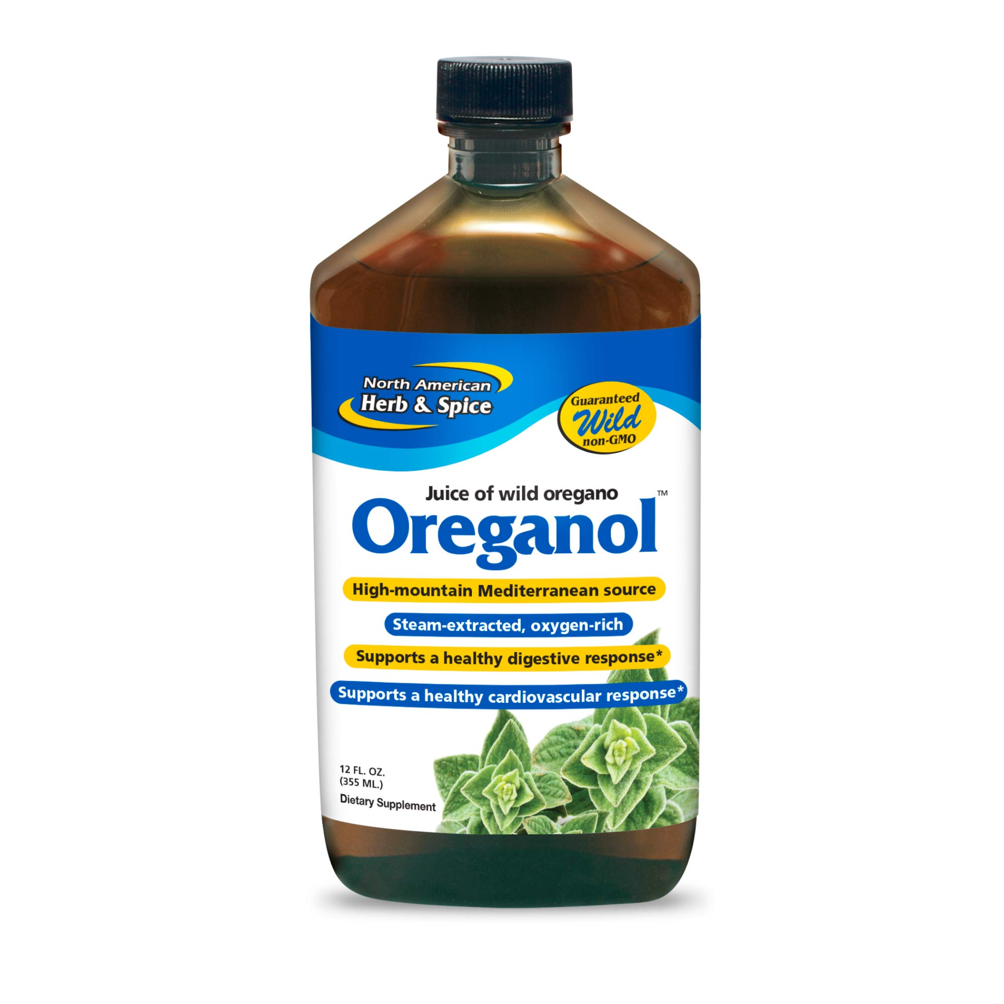 North American Herb and Spice, Juice of Oregano, 12 oz.