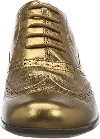 Clarks Hamble Oak, Zapatos de Cordones Derby para Mujer