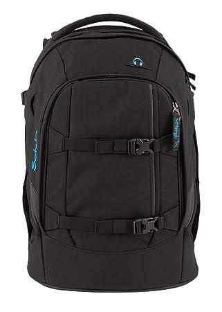 Infos für erstaunliche Qualität Räumungspreise Satch Schulrucksack-Set 3-TLG Pack Black Bounce schwarz