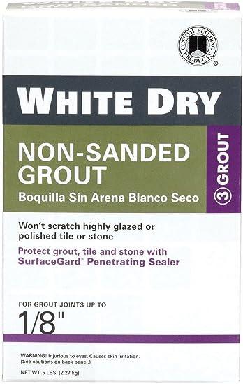 Custom Building Product WDG5 5 lb Non-Sanded White Tile Grout 2-Pack