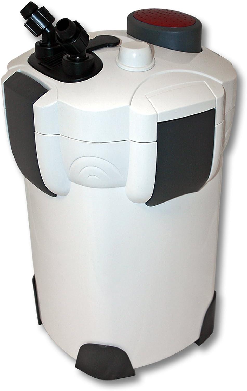 SunSun HW-302 Filtro Exterior Acuario 3-Etapas 1000l/h Material filtrante Mantenimiento Acuario