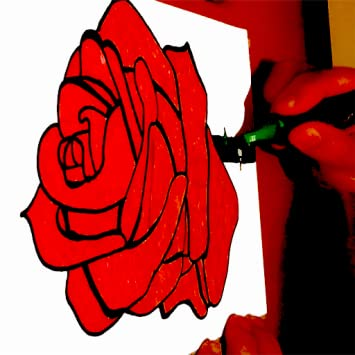 Amazon Com How To Draw A Red Rose Flower For Kids Appstore For Android