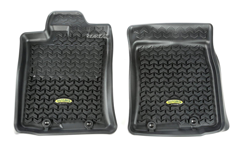 Outland 398290435 Black Front Row Floor Liner For Select Toyota FJ Cruiser Models