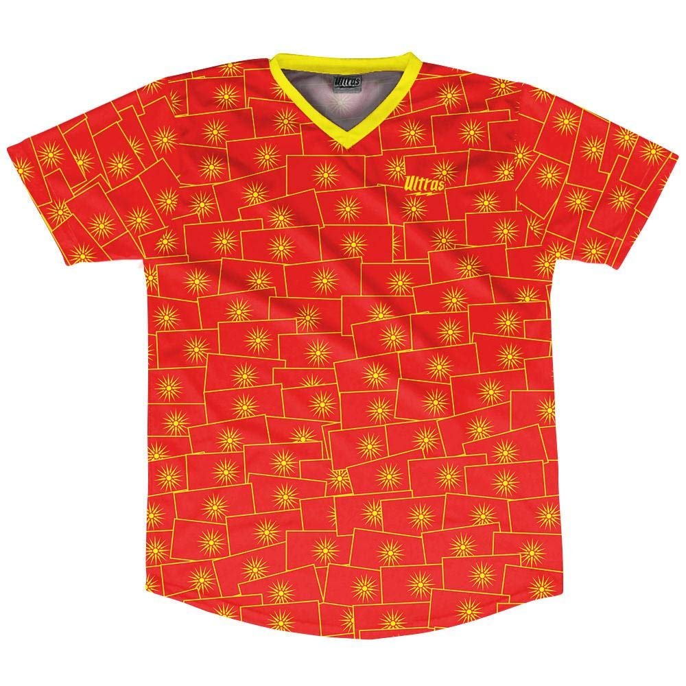 Ultras Macedonia Party Flags Soccer Jersey