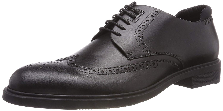 TALLA 44 EU. BOSS Firstclass_derb_ltbg, Zapatos de Cordones Derby para Hombre