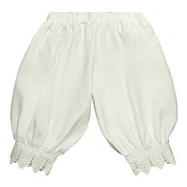 77a2e011e66 Victorian Organics Little Girl Toddler Pantaloon Organic Cotton Lace Long  Pant (2T 2 Toddler,