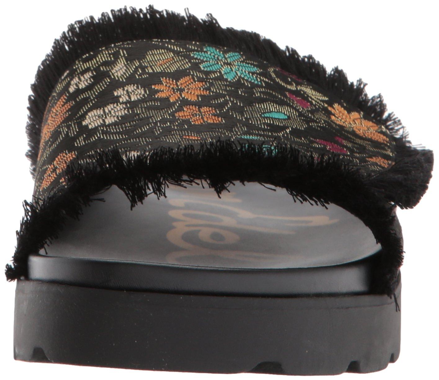 Sam Edelman B071Y5D59V Women's Mares Slide Sandal B071Y5D59V Edelman 10 B(M) US|Black Multi Floral Brocade 7ccb03